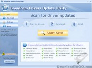 Broadcom Drivers Update Utility screenshot